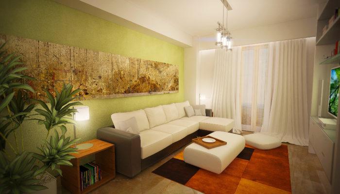 Repro Invest - Biasini Residence - Living 2