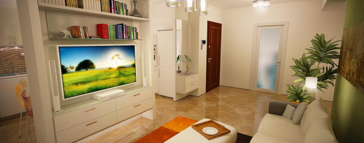 Repro Invest - Biasini Residence - Living 1